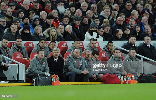 The Wenger Woes Continue – Liverpool vs Arsenal overview